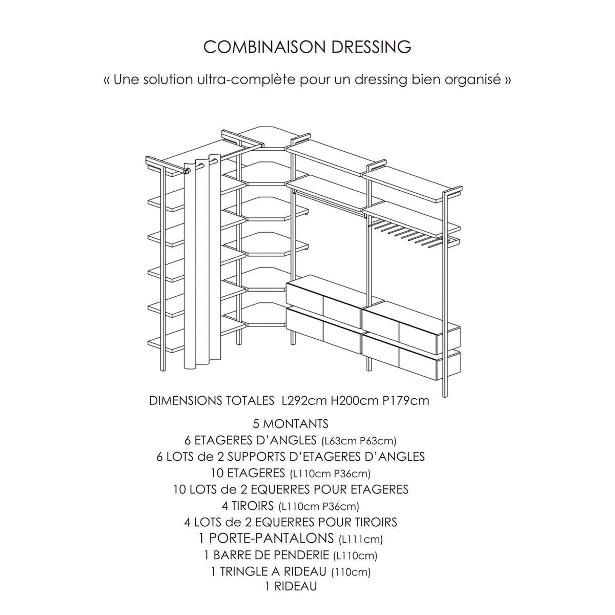 composer un dressing perfect composer son bureau composer. Black Bedroom Furniture Sets. Home Design Ideas
