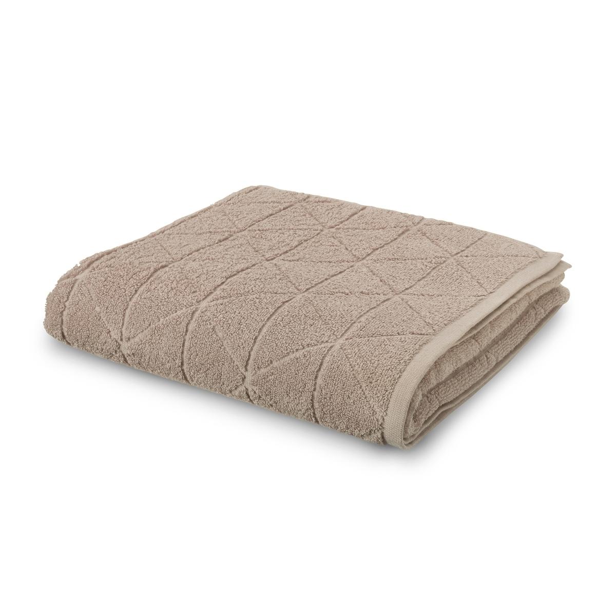 Полотенце La Redoute Для рук с узором гм SCENARIO 50 x 100 см бежевый полотенце la redoute для рук из махровой ткани хлопок с люверсом единый размер бежевый