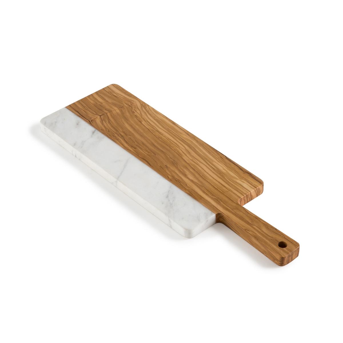 Доска разделочная из дерева и мрамора AGLIAОписание:Разделочная доска La Redoute Interieurs из белого мрамора и оливкового дерева прямоугольной формы. Мультифункциональная доска изящного дизайна.Характеристики разделочной доски •  Белый мрамор и оливковое дерево •  Отверстие на ручкеРазмеры разделочной доски •  Размеры 38,1 x 12,8 x 1,5 смВсю коллекцию столового декора вы найдете на сайте laredoute.<br><br>Цвет: мраморный