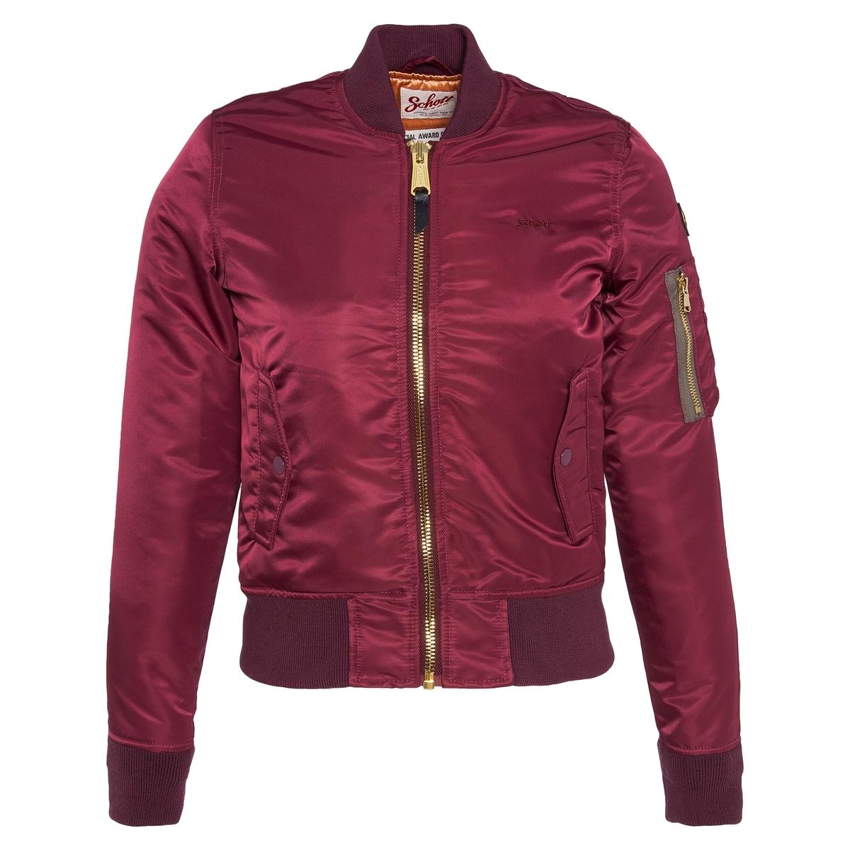 Куртка-бомбер сатиновыйСостав и характеристики:Материал : 100% полиамида НейлонаМарка : SCHOTTМодель : KTACWУход Машинная стирка при 30°<br><br>Цвет: бирюзовый,бордовый,небесно-голубой,розовый,светло-бежевый,темно-синий<br>Размер: M.M.L.XL