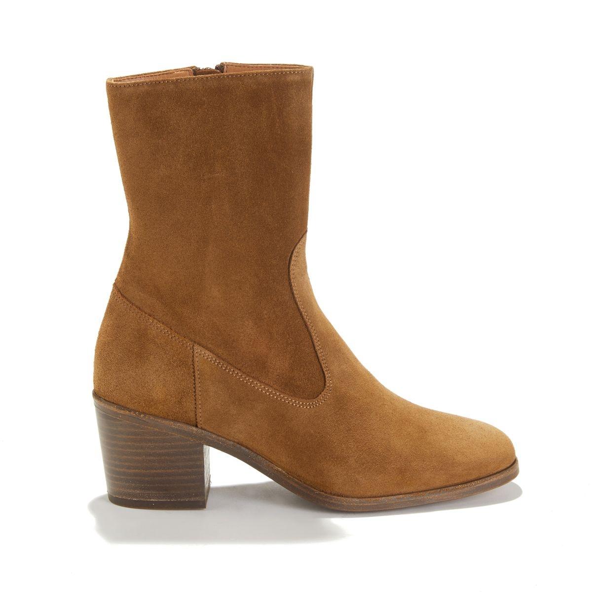 Boots mi-hautes en cuir LUDD