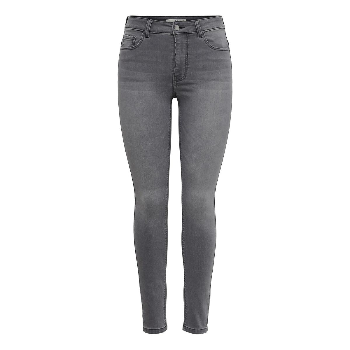Фото - Джинсы LaRedoute Скинни L/30 серый джинсы laredoute скинни длина 30 s черный