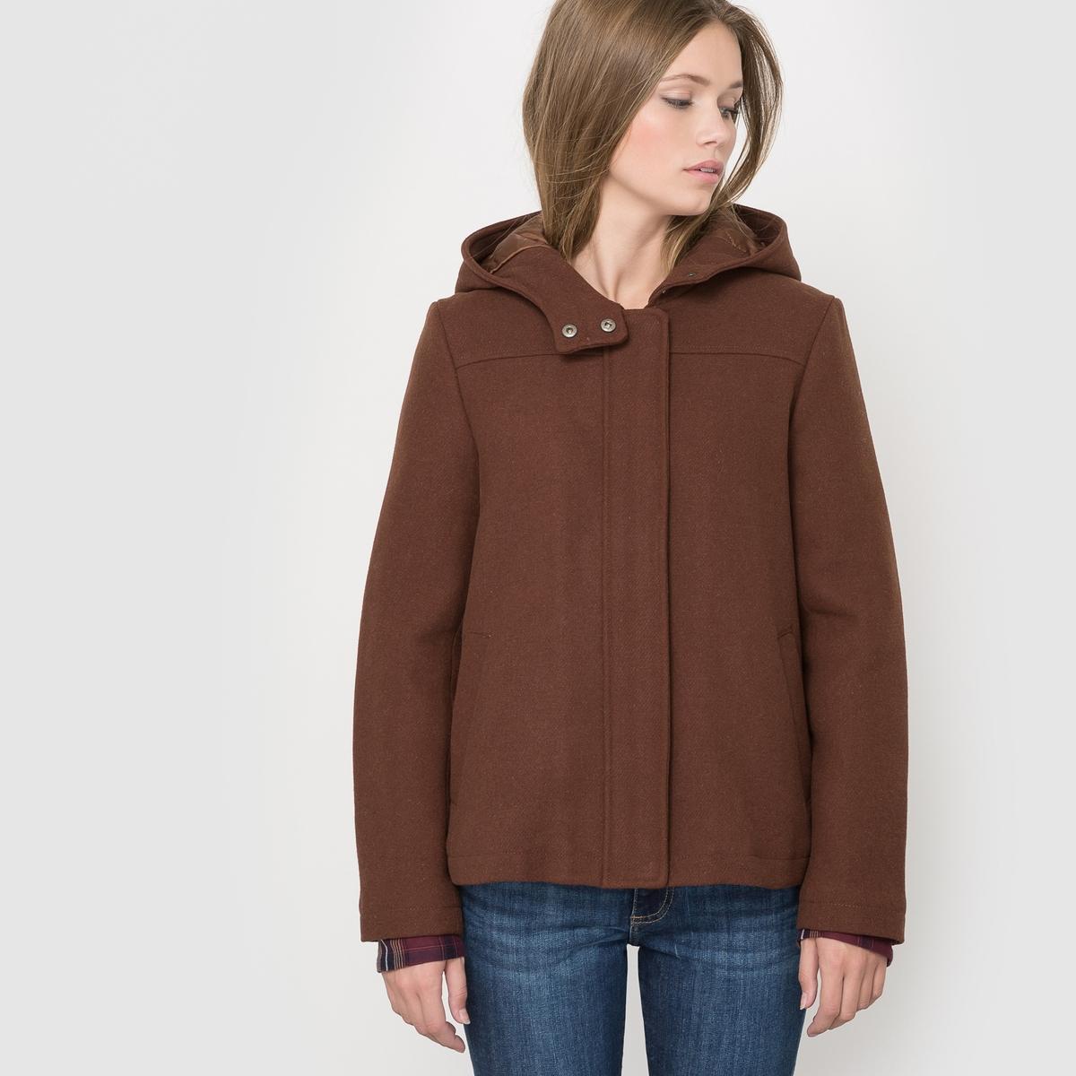 Пальто короткое,  50% шерсти