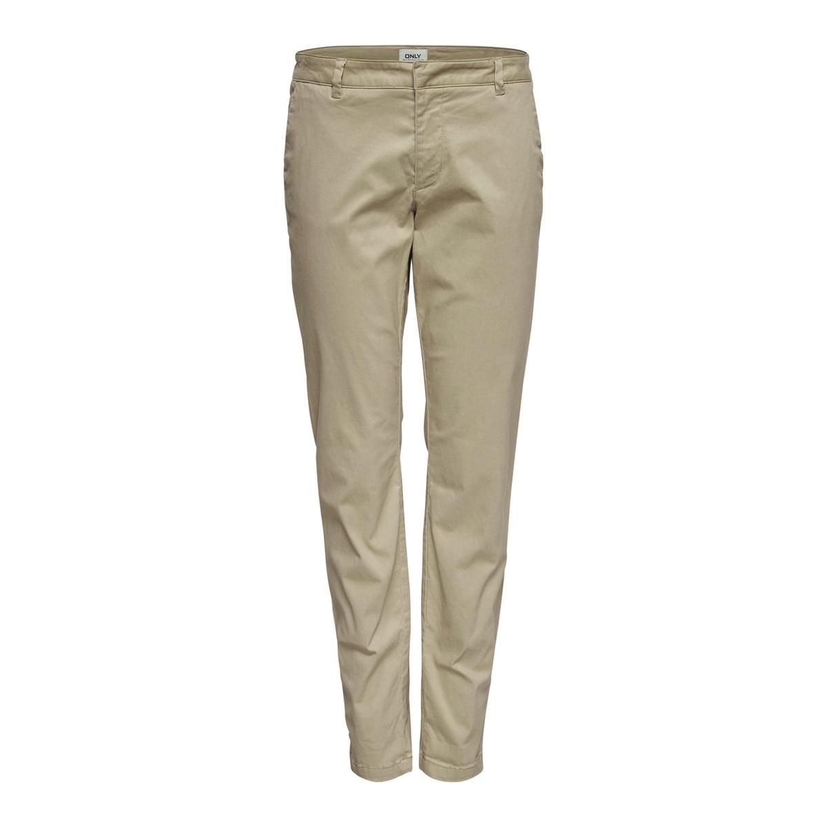 Calças chino, modelo direito, comprimento 32