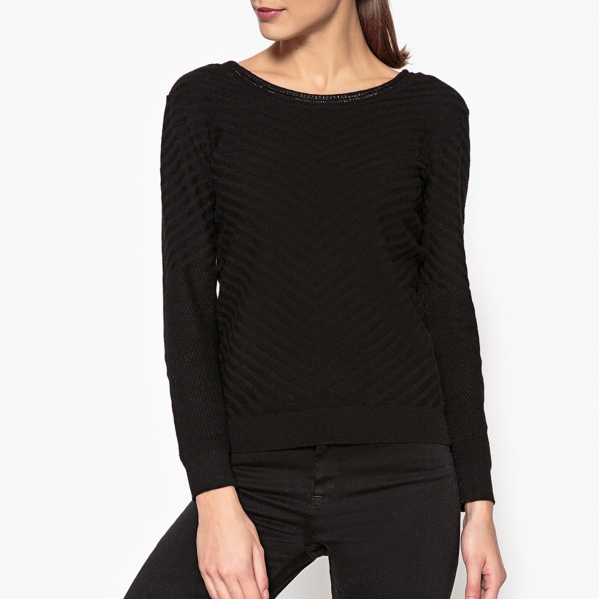 Пуловер из оригинального трикотажа с блестящими деталями кардиган из оригинального трикотажа 100