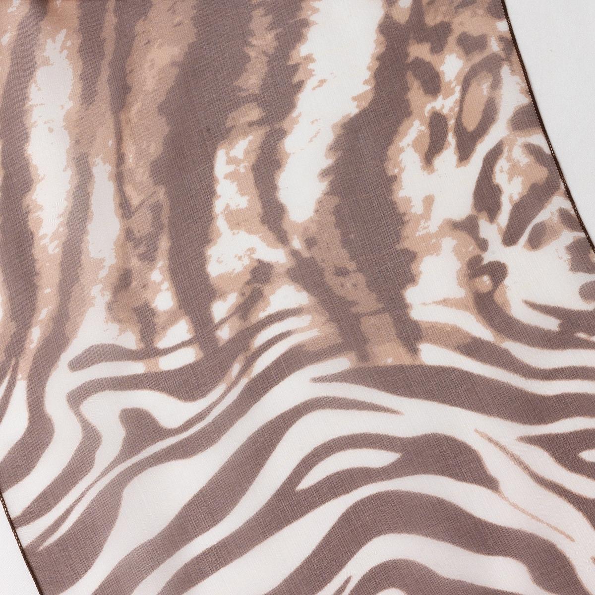 Платок шёлковыйШелковый платок - изысканное дополнение к Вашему наряду. Состав и описание : Материал            100% шелкРазмер 120 x 25 смМарка Anne Weyburn  Уход :Ручная стирка.Машинная сушка запрещена.Не гладить.<br><br>Цвет: рыжий,серый<br>Размер: единый размер.единый размер
