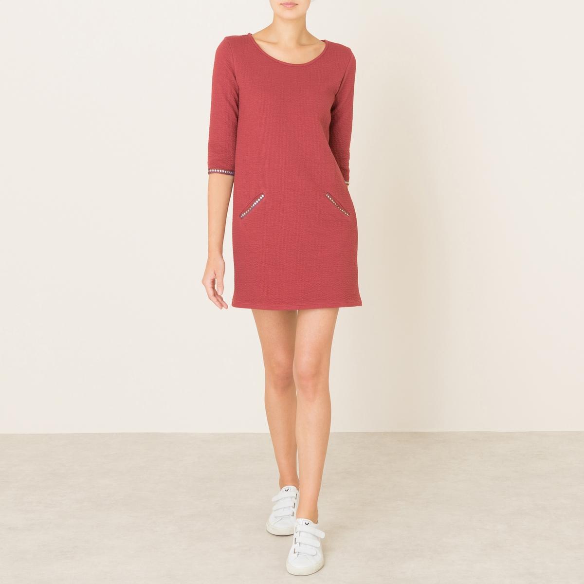 Платье PEAU ROUGEСостав и описание Материал : 60% хлопка, 40% полиамидаМарка : BLUNE<br><br>Цвет: кирпичный<br>Размер: L