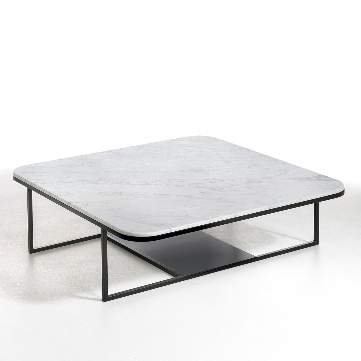 Столик LaRedoute Журнальный Tora дизайн Э Галлины единый размер белый