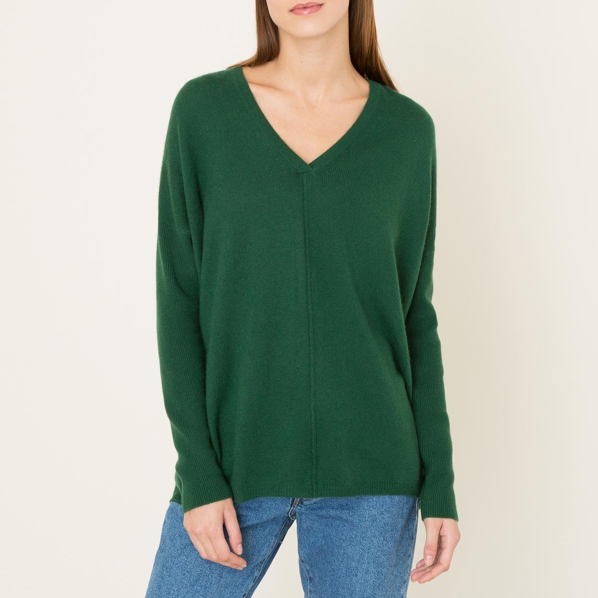 Пуловер FRED, 100% кашемирСостав и описание :         Материал : 100% кашемир          Марка : LA BRAND BOUTIQUE<br><br>Цвет: зеленый