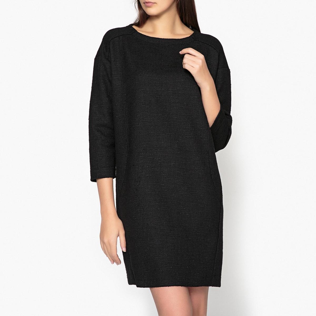 Платье-футляр LaRedoute La Redoute 38 (FR) - 44 (RUS) черный платье laredoute из кружева oilway 40 fr 46 rus черный