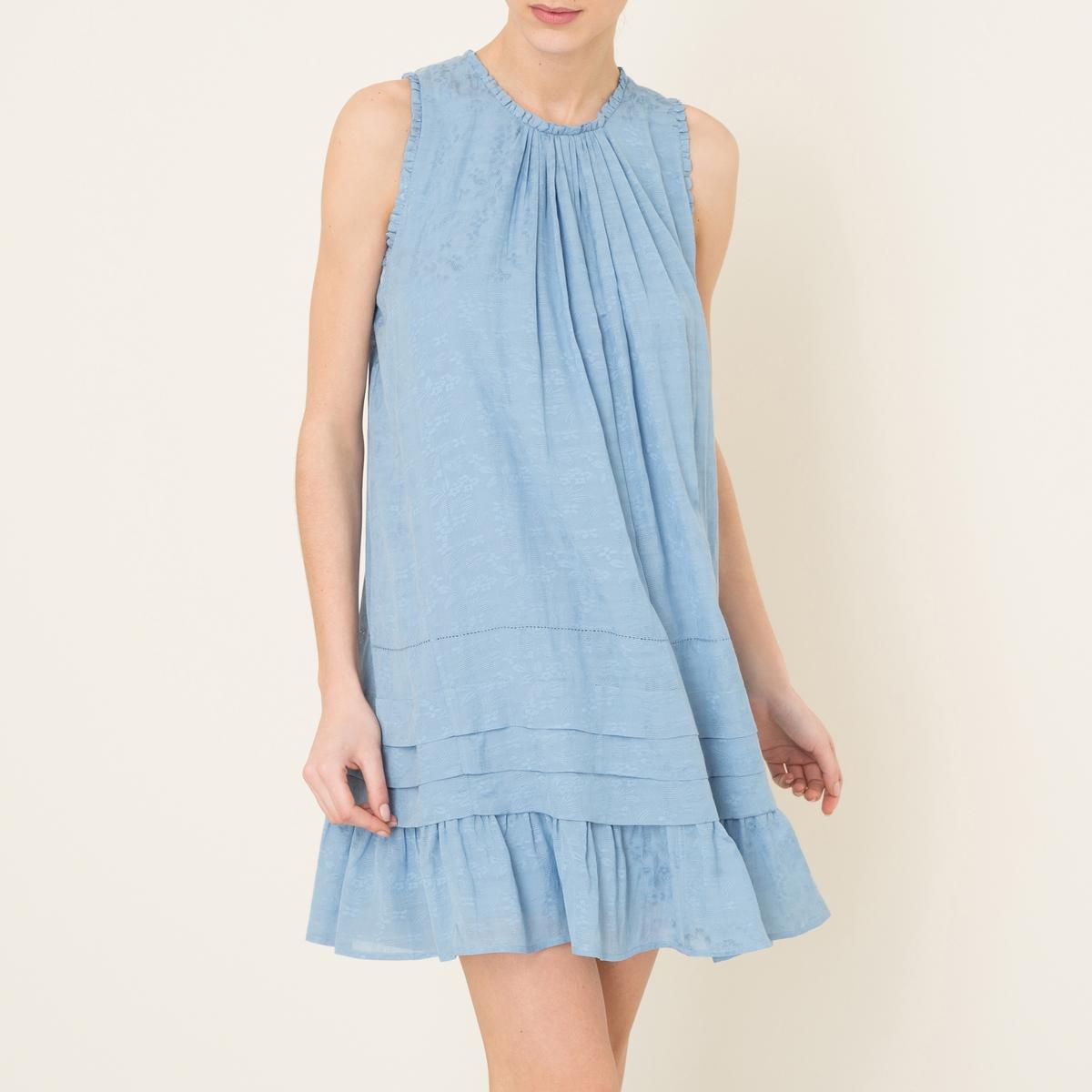 Платье LILIANAСостав и описание Материал : 100% вискозаДлина : ок. 91 см. для размера 36Марка : PAUL AND JOE SISTER<br><br>Цвет: синий
