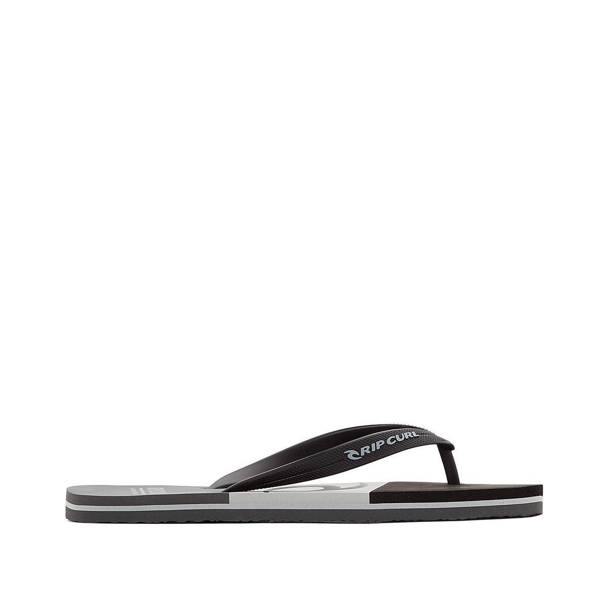 Вьетнамки Slide OutВерх : синтетика   Стелька : синтетика   Подошва : каучук   Форма каблука : плоский каблук   Мысок : открытый мысок   Застежка : без застежки<br><br>Цвет: черный/серый