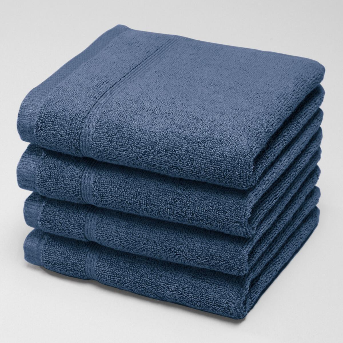 Lote de 4 toalhas de rosto em turco 600 g/m²