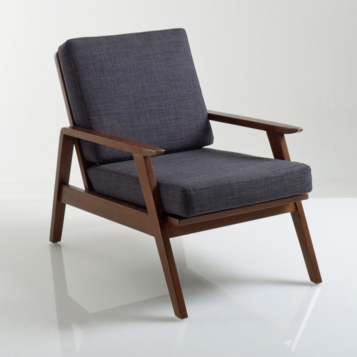 Кресло в винтажном стиле WATFORD кресло низкое и широкое в винтажном стиле из велюра с бахромой ramona