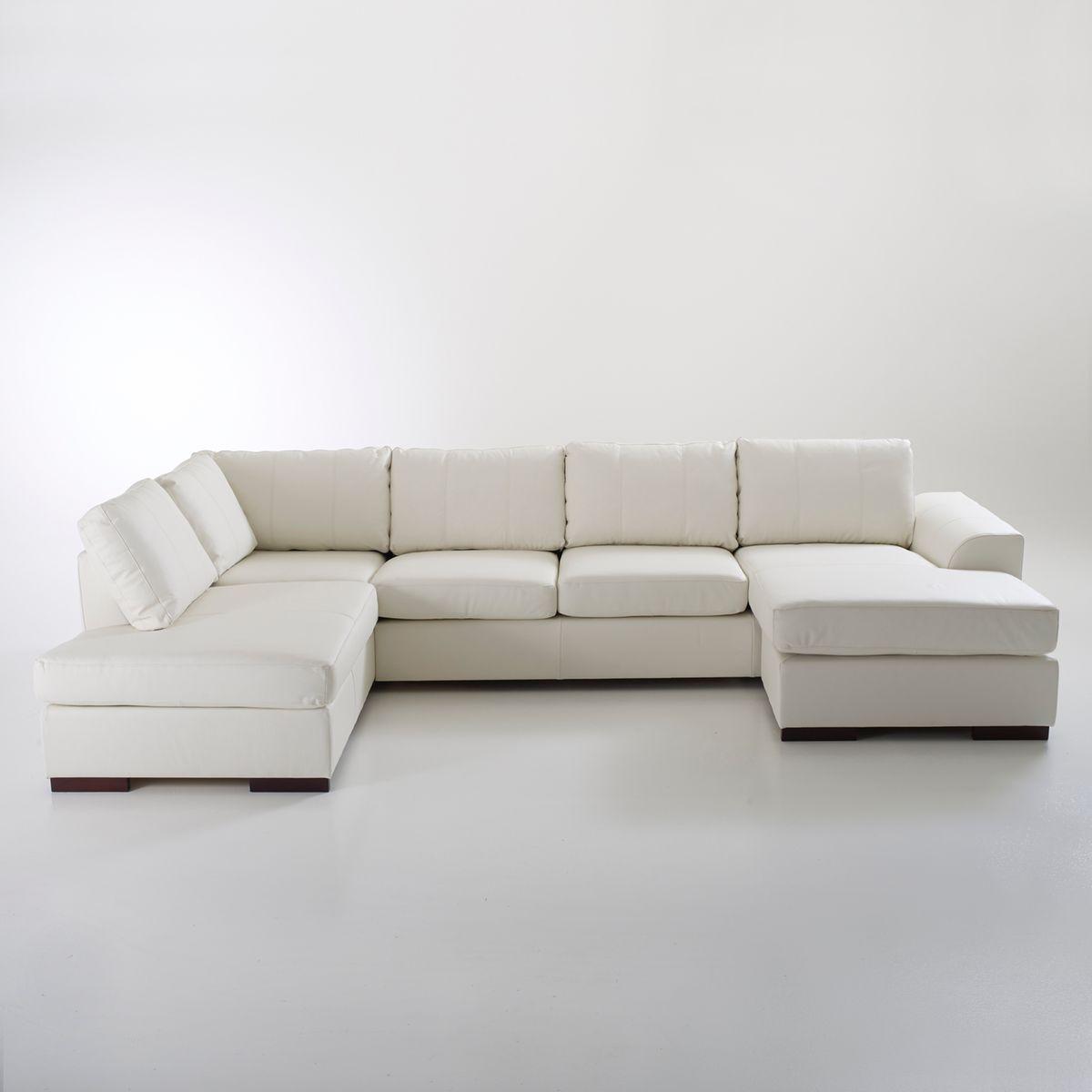 canap d 39 angle cuir vachette portland. Black Bedroom Furniture Sets. Home Design Ideas