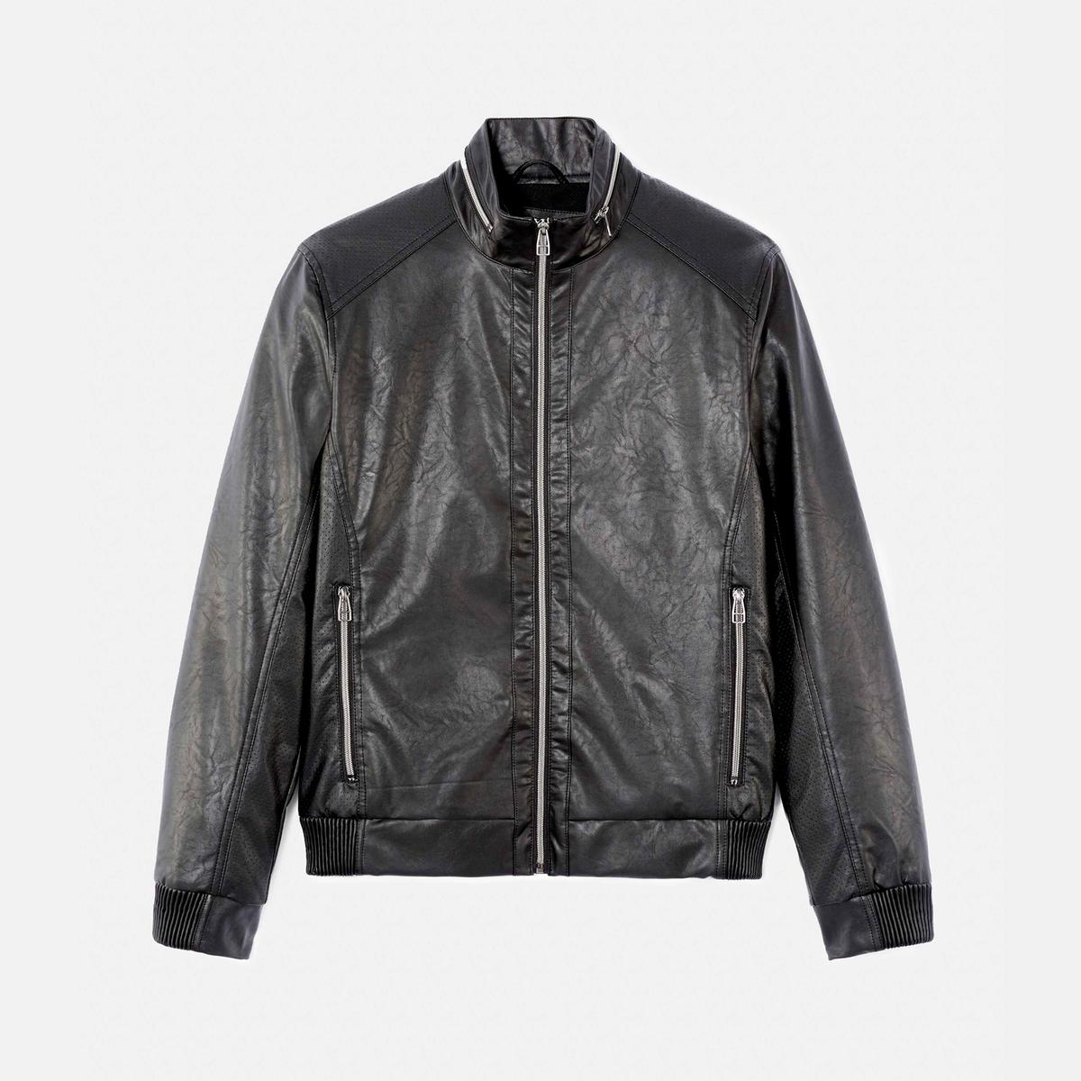 Куртка стеганая тонкая с капюшоном FUCOLOR