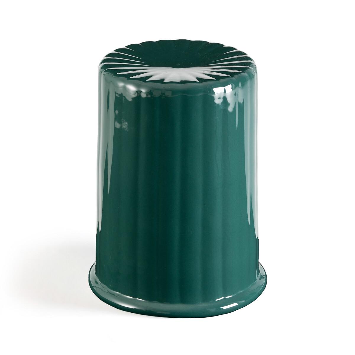 Стол LaRedoute Диванный Cannel из эмалированной керамики единый размер зеленый