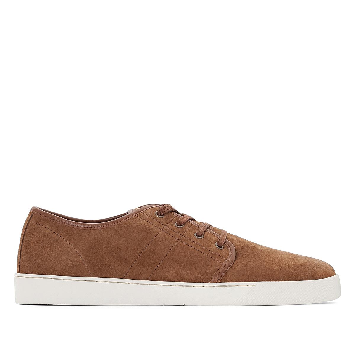 Кеды низкие на шнуровке из спилка ботинки из спилка 26 40