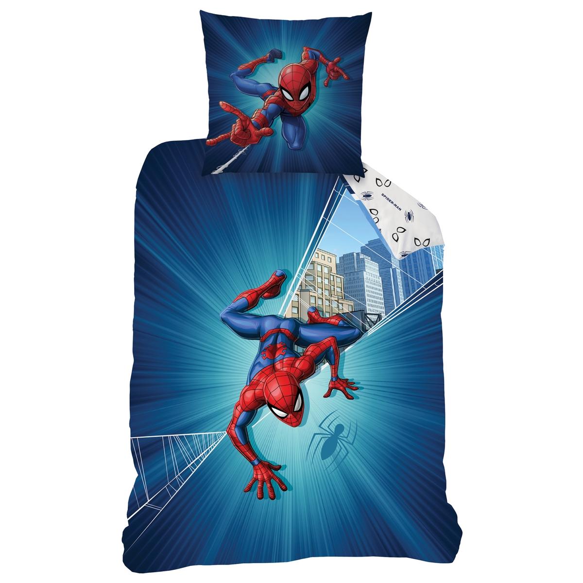 Spiderman Duvet Cover & Pillowcase Bedding Set