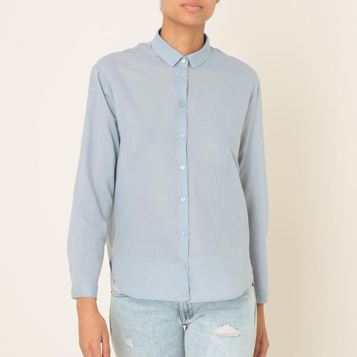 Рубашка однотонная рубашка harris wilson harris wilson ha019emqpi74