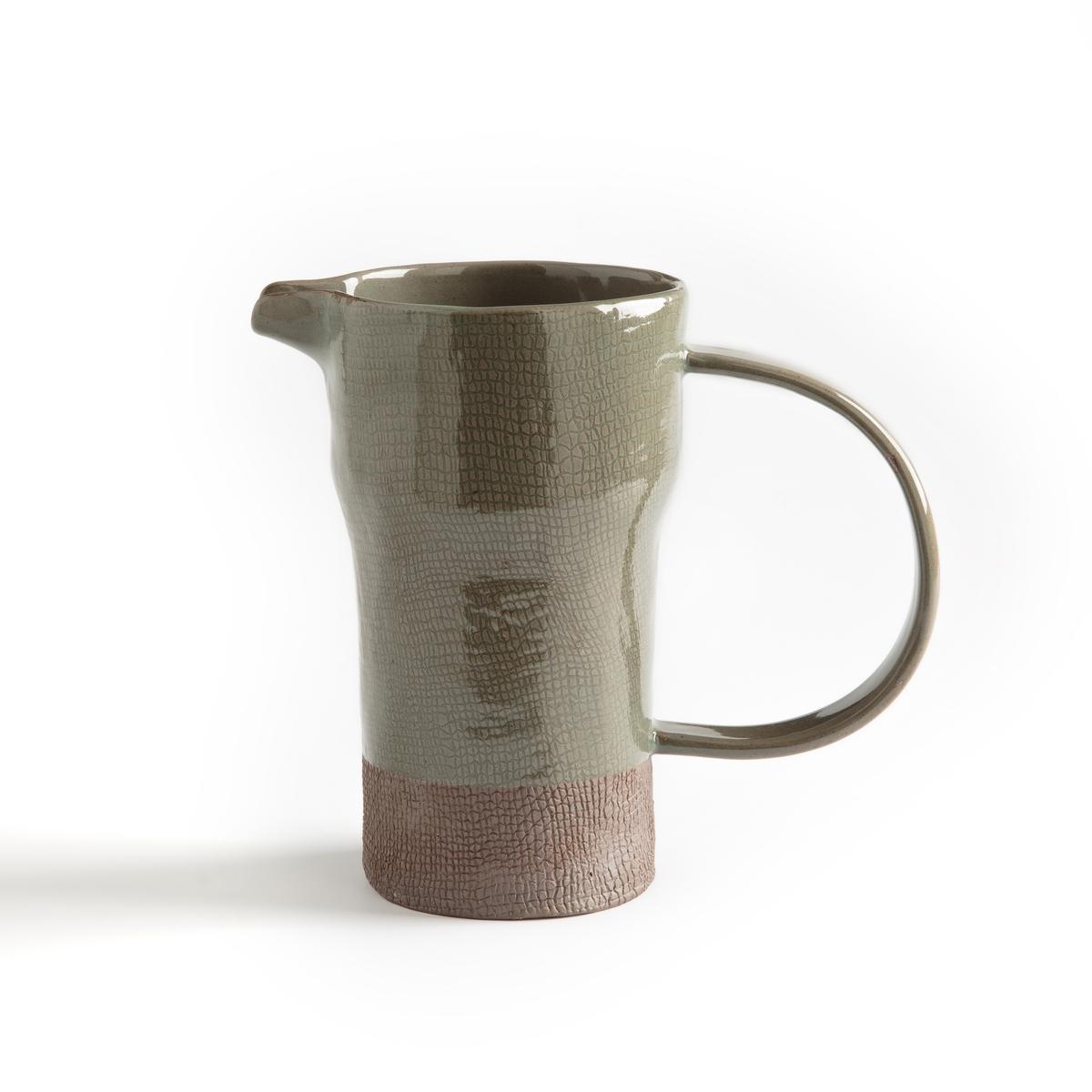 Кувшин La Redoute Из керамики Sanna единый размер каштановый чашки la redoute из керамики shima единый размер зеленый