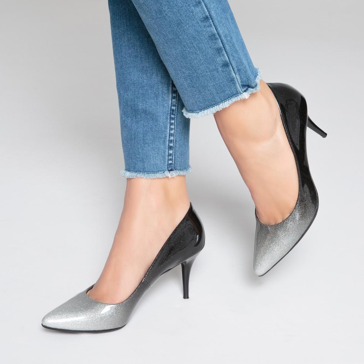 zapatillas Zapatos de tac?n con efecto degradado