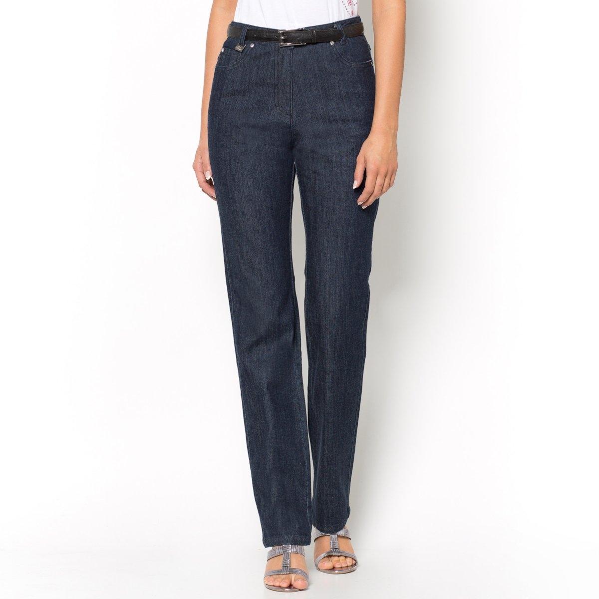 Джинсы из стретч денима, длина по внутр. шву 78 см брюки из саржи би стрейч длина по внутр шву 78 см
