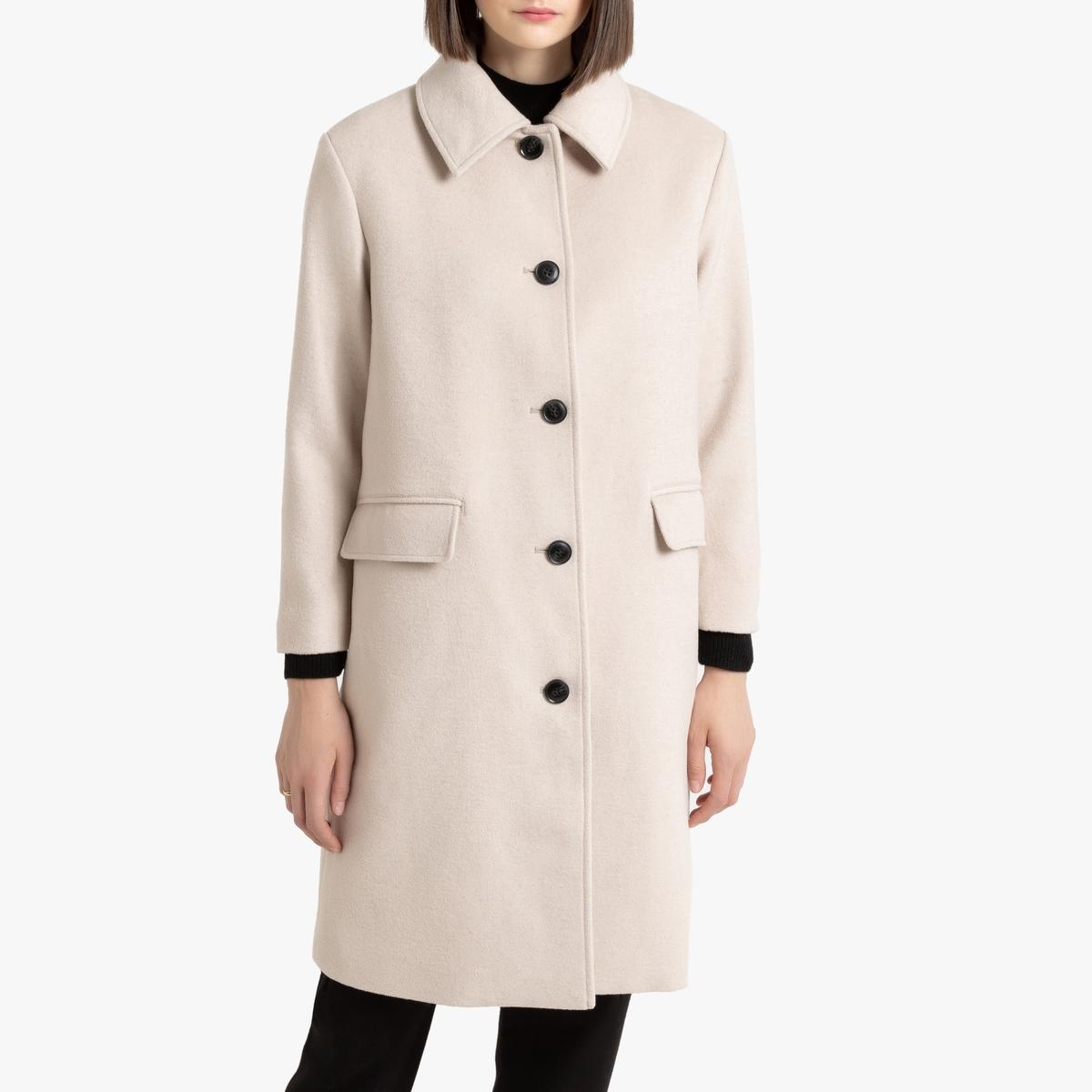 съемный воротник у пальто на кнопках фото популярный модный тренд