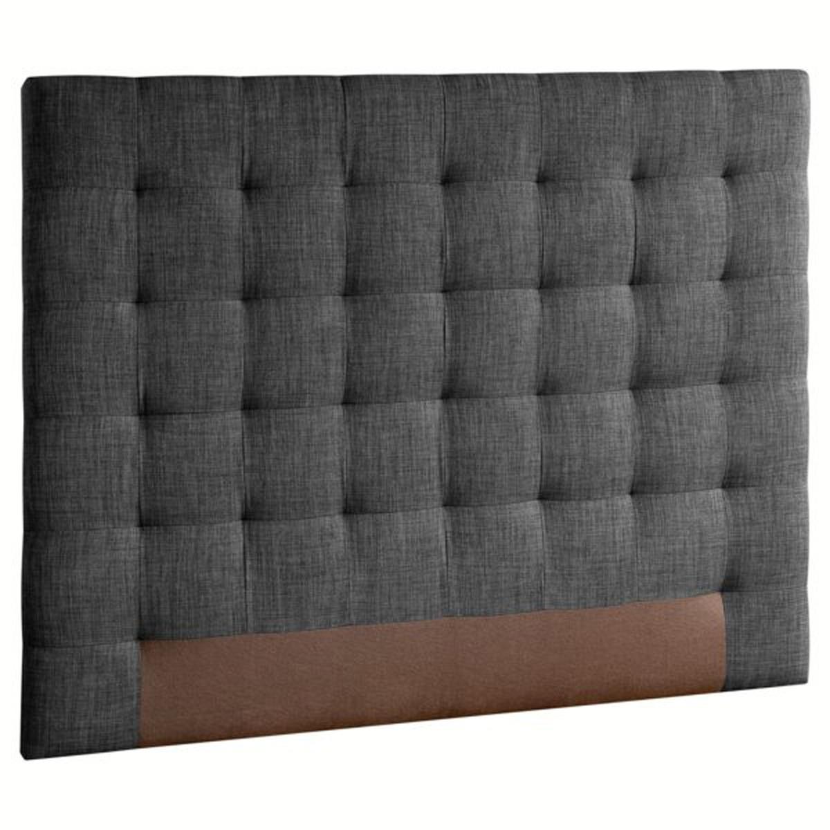 Изголовье LaRedoute Кровати Selve 140 см серый кровати 140 см