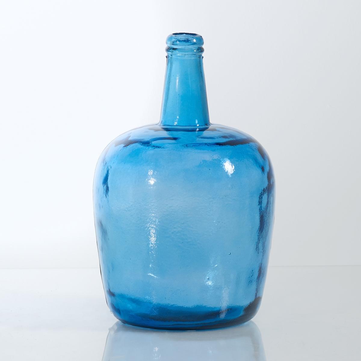 Ваза-бутыль стеклянная, IzoliaВаза-бутыль стеклянная, Izolia. В духе старинной оплетенной бутыли, эти вазы привнесут в ваш интерьер очень модный винтажный стиль!Характеристики вазы-бутыли Izolia :Стекло с возможностью повторного использования Бутыль из выдуваемого стекла Izolia Всю коллекцию Izolia ищите на сайте laredoute.ruРазмеры вазы-бутыли Izolia :ОбщиеДиаметр : 23,5 см.Высота : 36,5 см.<br><br>Цвет: бирюзовый