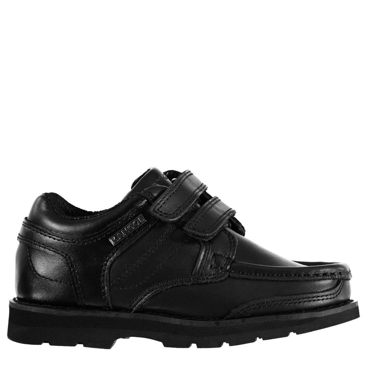 Chaussures mocassins bande velcro