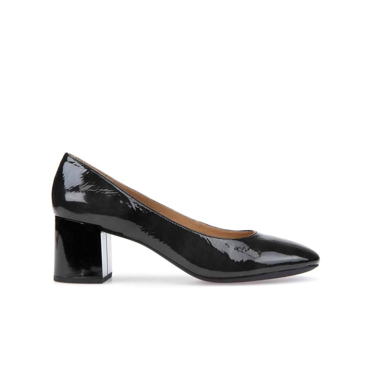Zapatos de charol con tacón Audalies