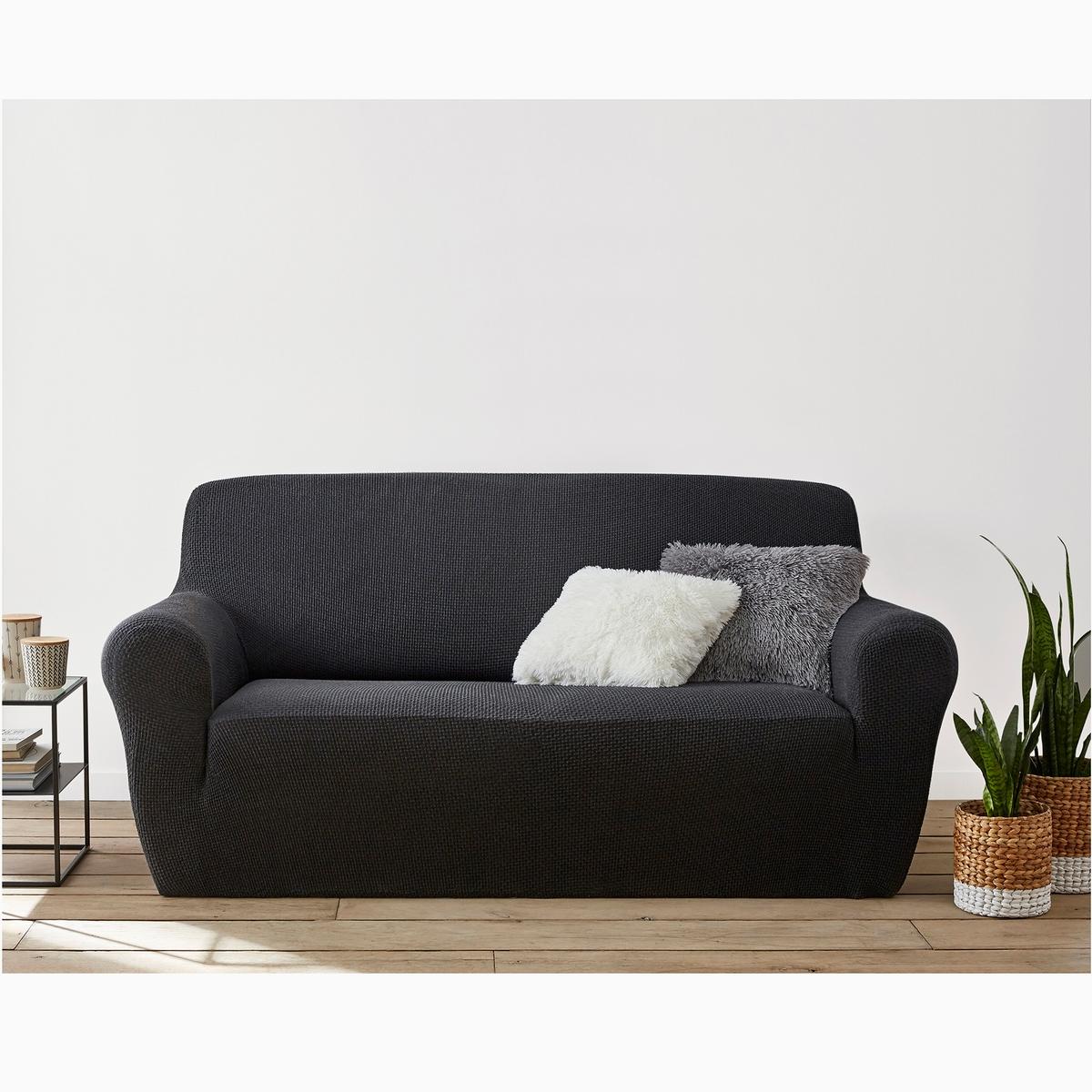 Чехлы для кресла и диванаИз эластичной гофрированной ткани, 55% хлопка, 40% полиэстера, 5% эластана. Стирка при 30°. Эластичный низ прекрасно закрывает кресла, диваны и стулья любых типов.<br><br>Цвет: антрацит,бежевый,красный,серо-коричневый каштан,серый,черный,экрю<br>Размер: 2 места.3 местн..1 места.3 местн..1 места.3 местн..2 места.2 места.1 места.2 места