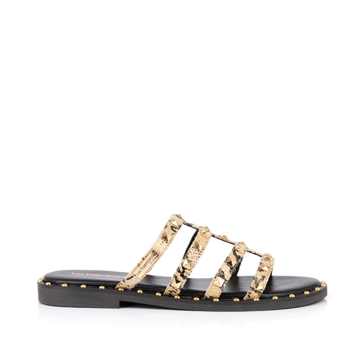 Туфли La Redoute Без задника кожаные Dory 38 черный туфли без задника кожаные с блестящими деталями