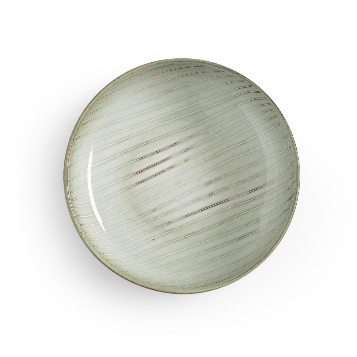 Чашки La Redoute Из керамики Shima единый размер зеленый плоские la redoute тарелки из эмалированной керамики attale единый размер каштановый