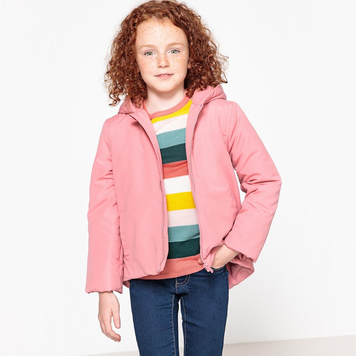 Куртка LaRedoute С капюшоном 3-12 лет 3 года - 94 см розовый парка la redoute с капюшоном 3 года 94 см зеленый