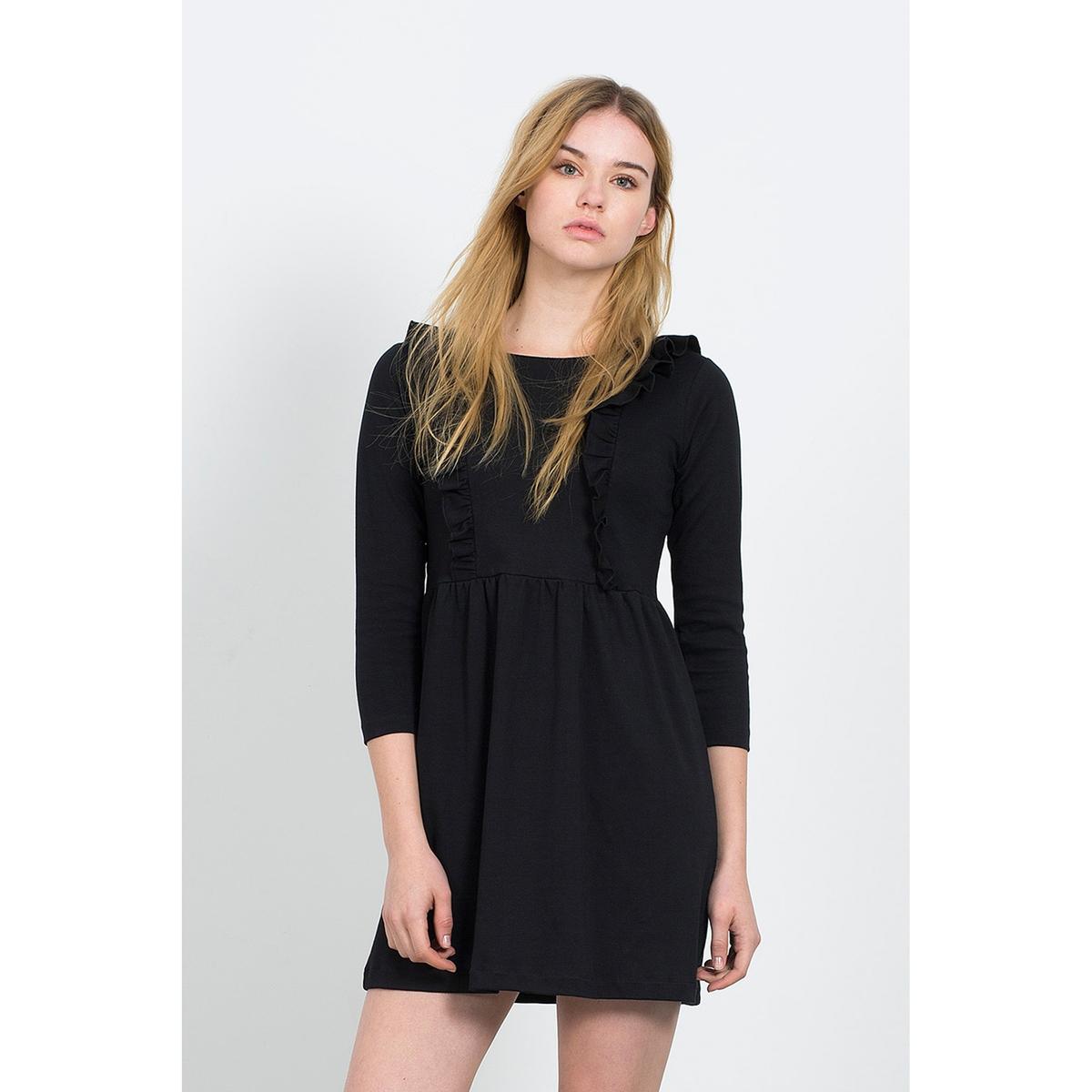 Короткое расклешённое платье SYDNEY BLACK DRESSСостав и описание :Материал : 100% хлопокМарка : COMPANIA FANTASTICA.УходМашинная стирка при 30 °С с вещами схожих цветов  Стирать и гладить с изнаночной стороны<br><br>Цвет: красный,черный<br>Размер: L.L