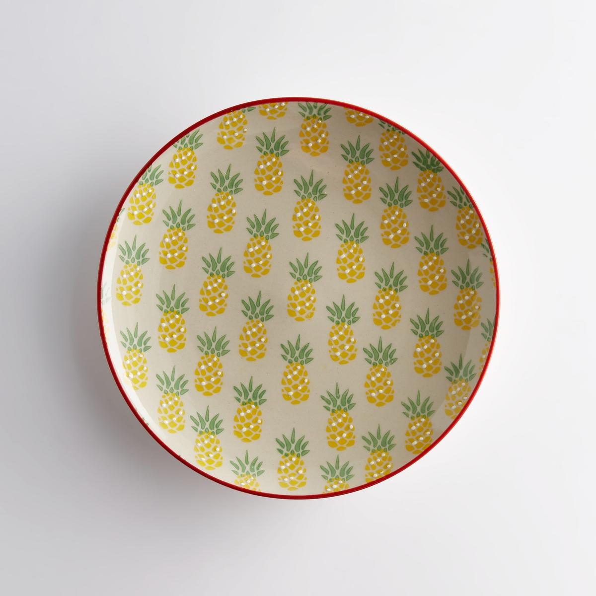 Комплект из 4 десертных тарелок, TOSSITA комплект из 4 мелких тарелок из керамики olazhi