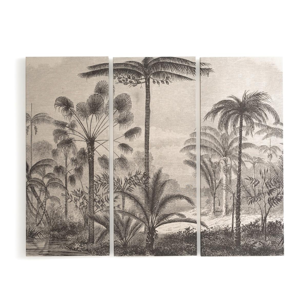 3 картины LaRedoute Wekoso единый размер черный недорого