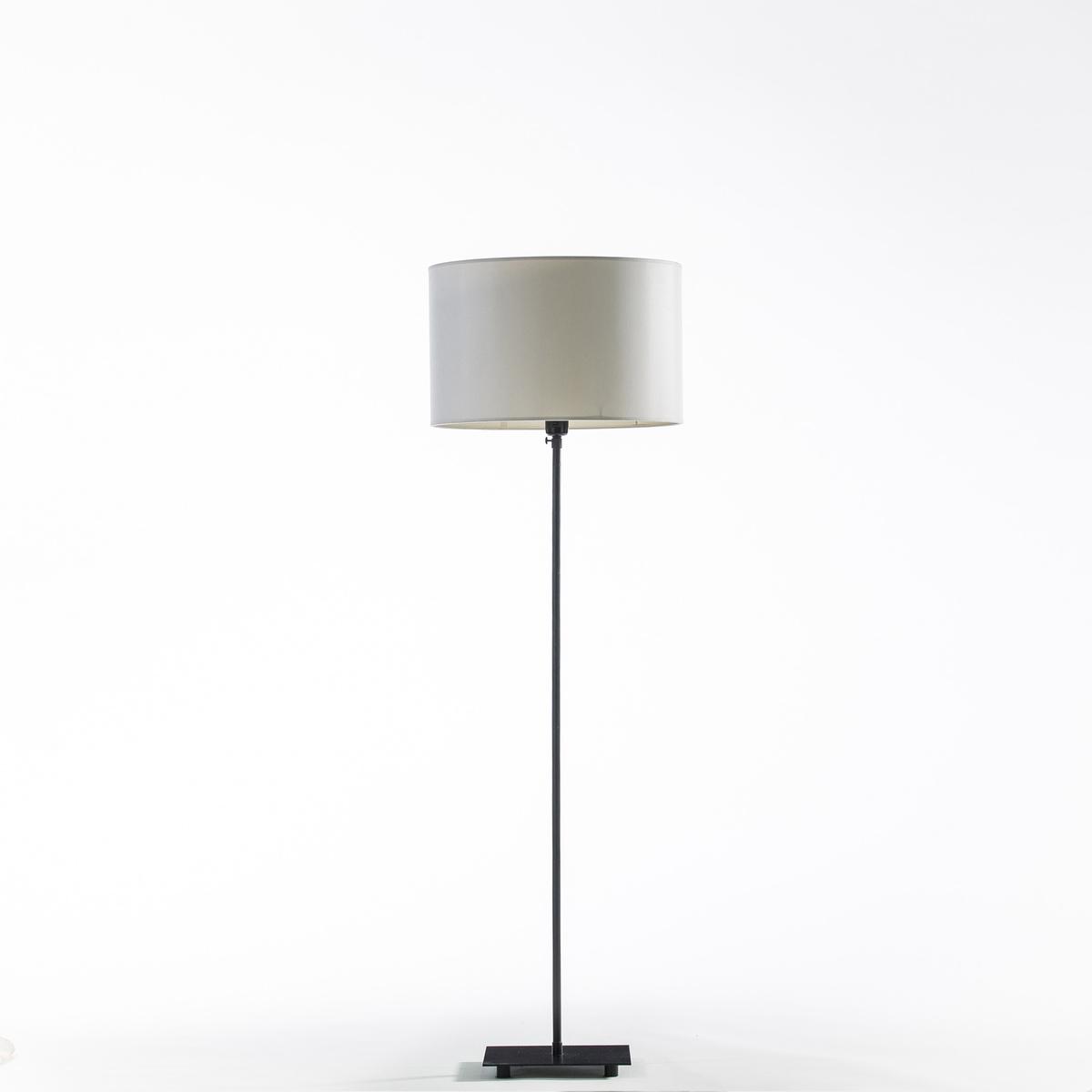 Ножка торшера, MarsТелескопическая ножка торшера из черного металла. Регулируемая высота от 108,5 до 195 см . Квадратный низ 23 x 23 см . Встроенный в патрон  E27 выключатель . Для флюокомпактной лампочки макс 20W .Этот светильник совместим с лампочками    энергетического класса   A-B-C-D-E .<br><br>Цвет: черный