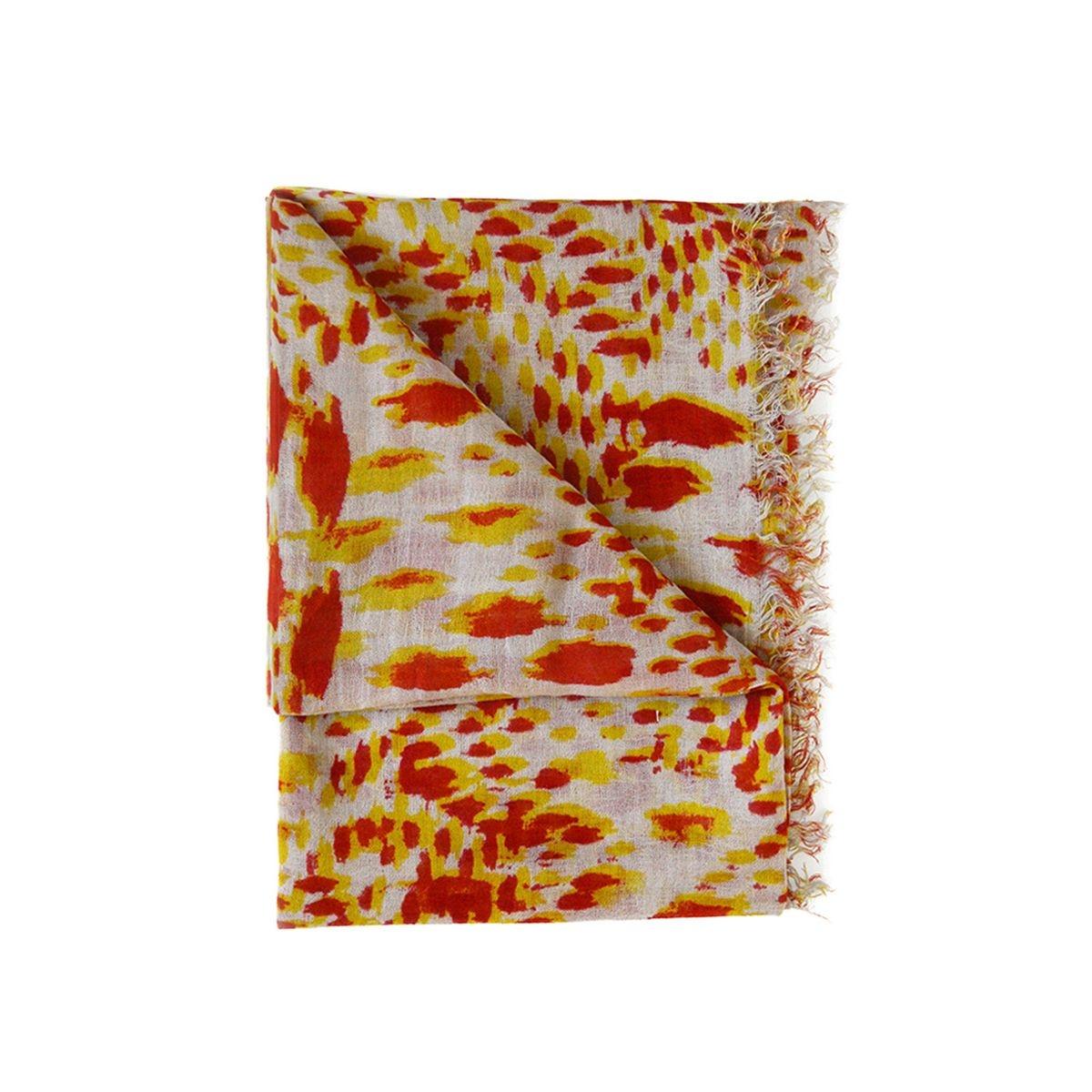 Foulard imprimé animal tons