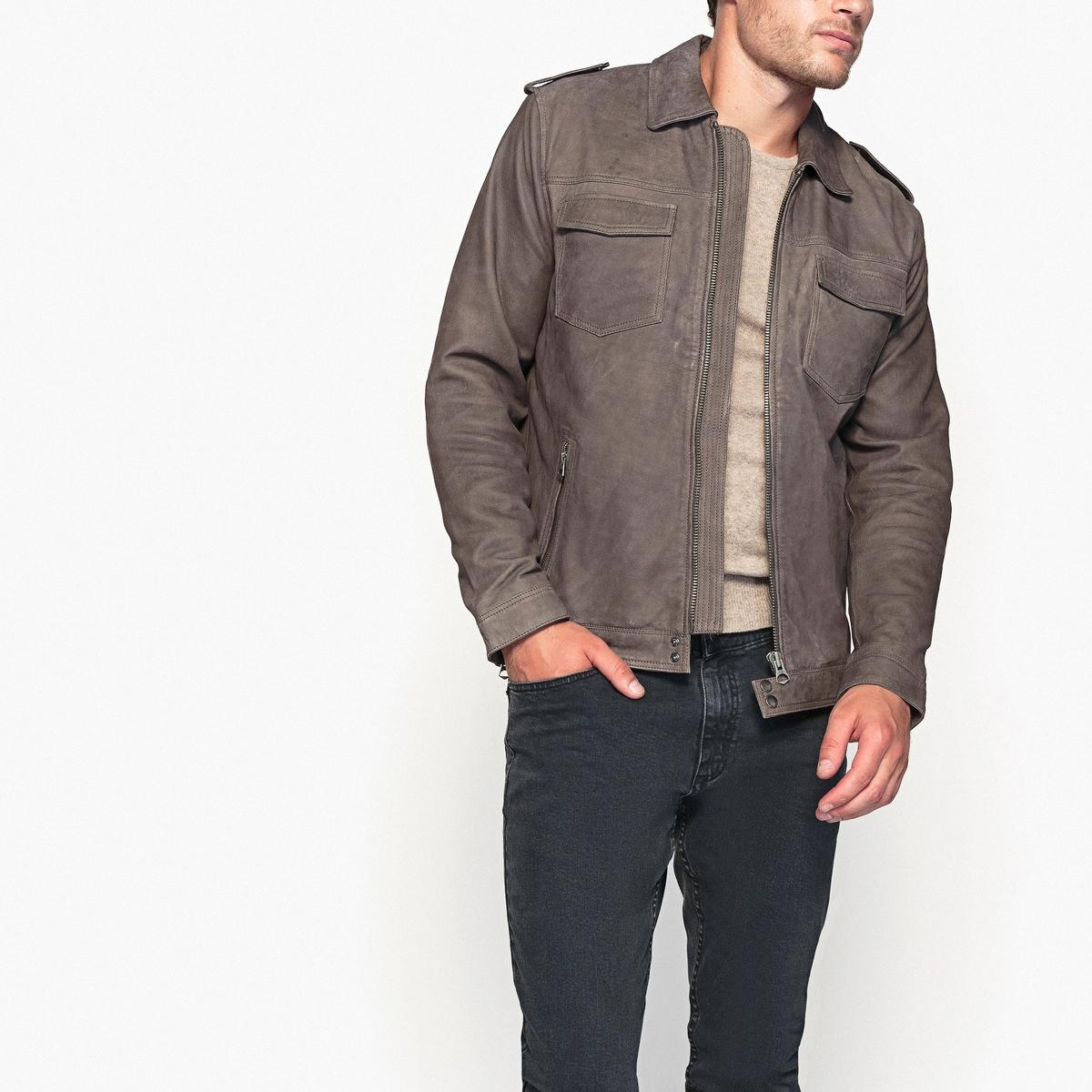 Блузон кожаный демисезонный блузон кожаный