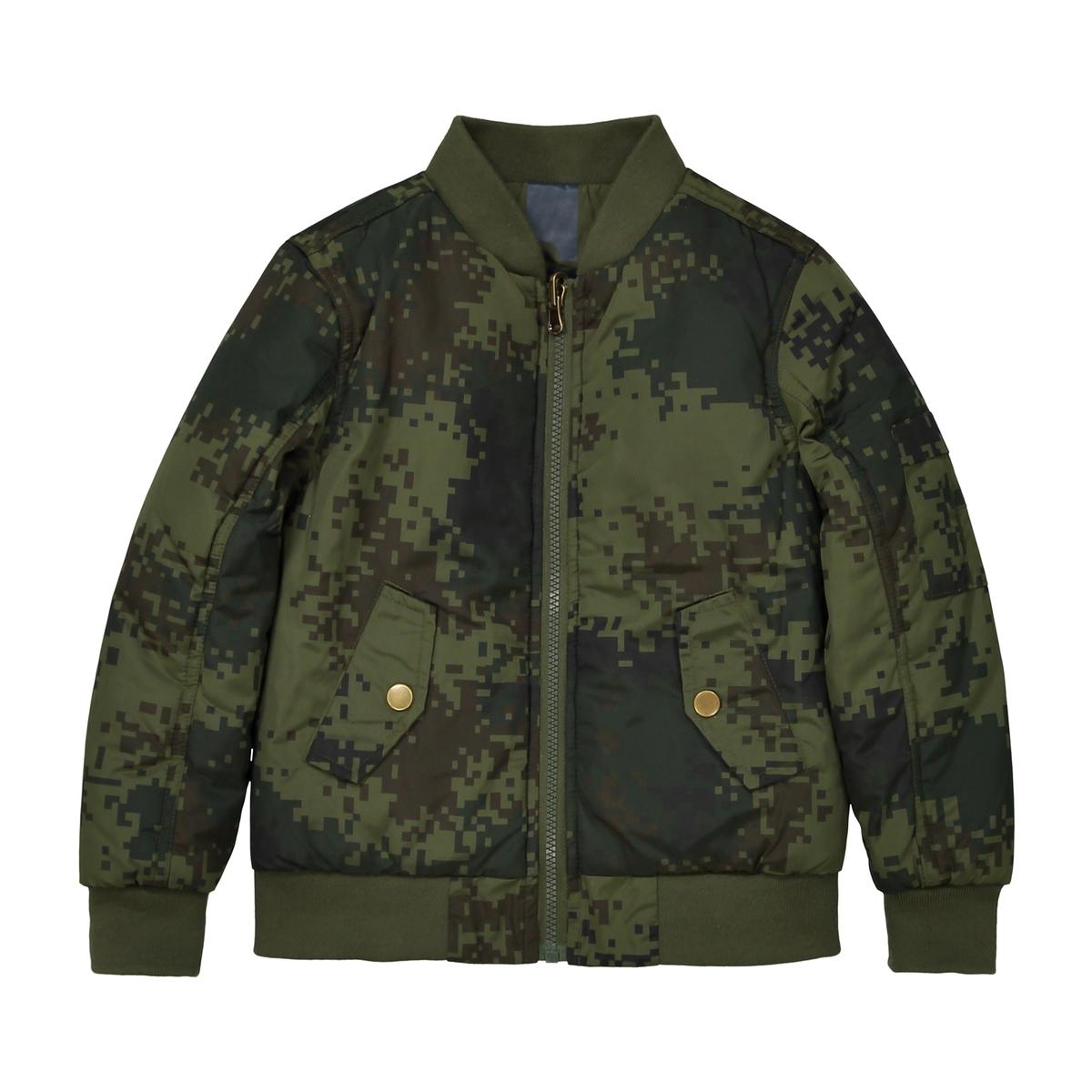 Куртка-бомбер двухсторонняя, 3-12 лет