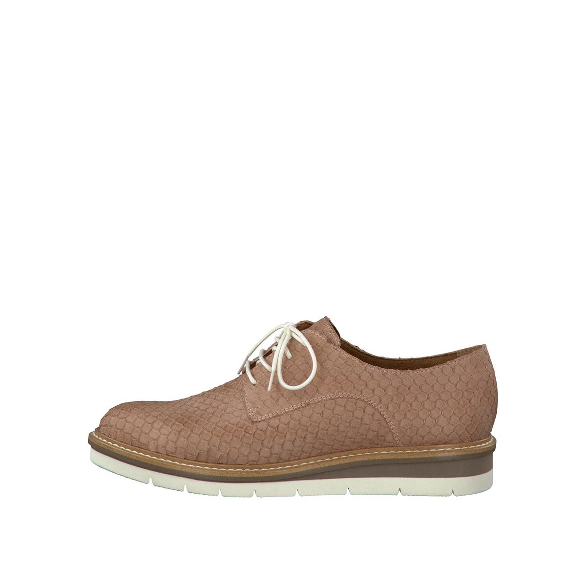 Ботинки-дерби кожаные