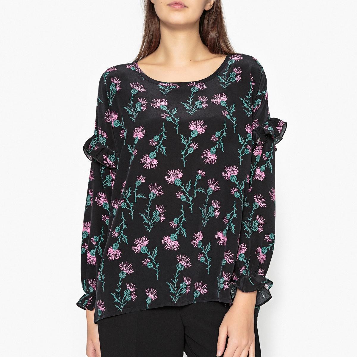Блузка из 100% шелка