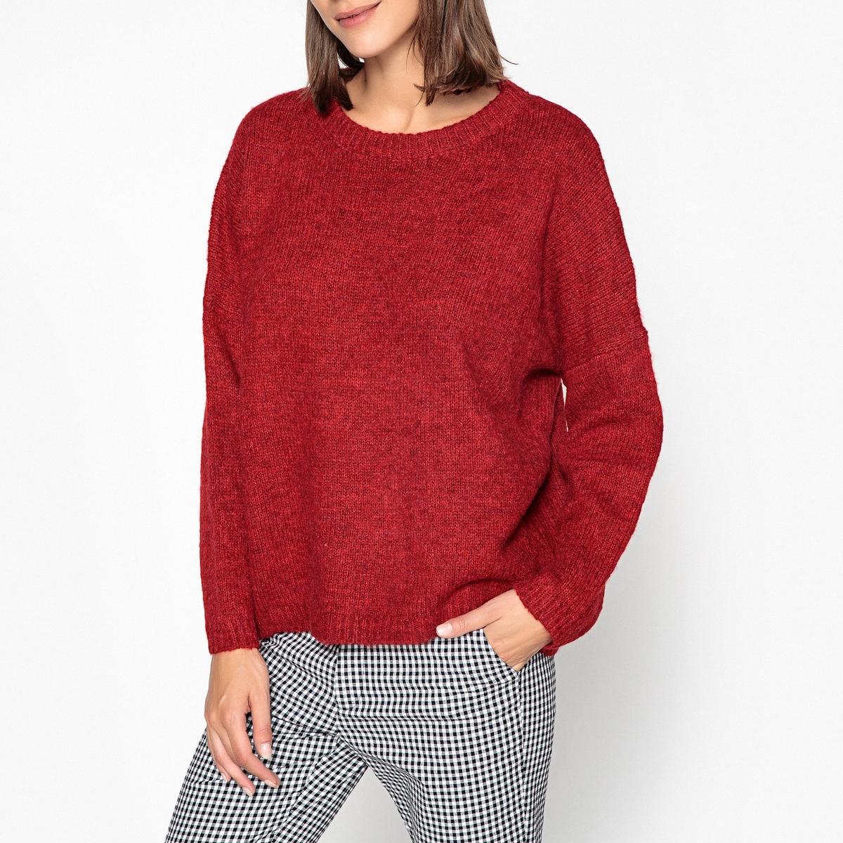Пуловер с круглым вырезом из плотного трикотажа ARGENTINA