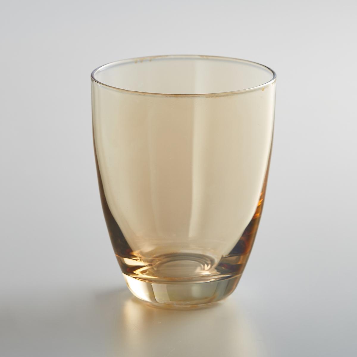 Комплект из 4 стаканов из стекла, KOUTINE4 стакана из стекла Koutine La redoute Int?rieurs. Янтарный или темно-серый цвет для создания гармонии оттенков на вашем столе.Характеристики 4 стаканов из стекла Koutine:Стаканы из стекла, выдуваемого с помощью ртаДиаметр : 8,4 см.Высота : 10 см Ручная стирка.В комплекте 4 стаканаНайдите всю коллекцию Koutine на нашем сайте laredoute.ru<br><br>Цвет: дымчато-серый,янтарь
