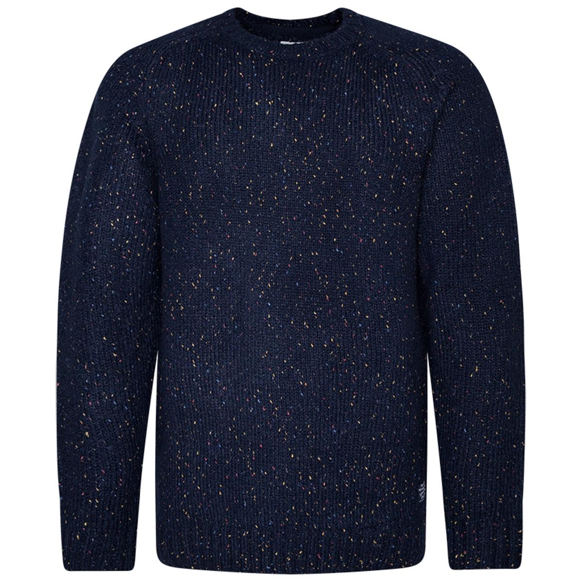 Пуловер La Redoute Из хлопка и альпаки Denis S синий цена и фото