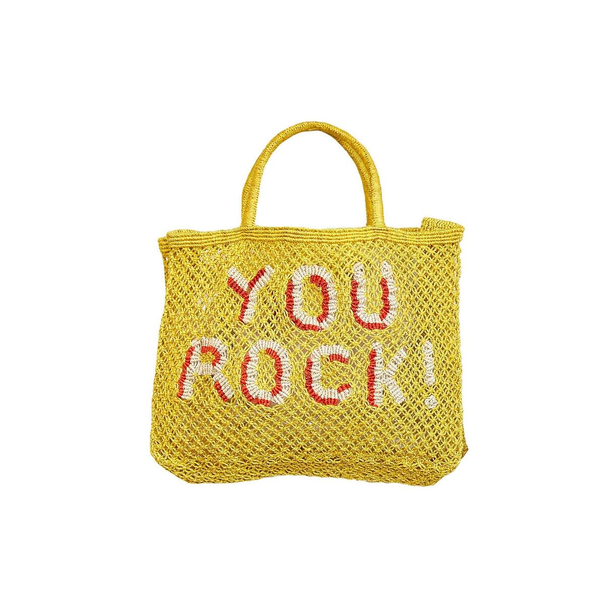 Сумка-шоппер La Redoute YOU ROCK маленький размер единый размер оранжевый этажерка la redoute с полками remia единый размер белый