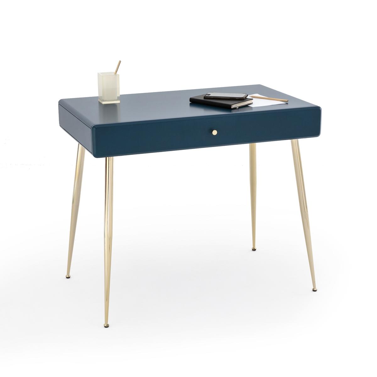 Стол La Redoute Письменный с ящиком TOPIM единый размер синий